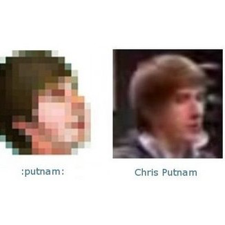 Facebook Emoticons: Chris Putnam's Social Network Smiley