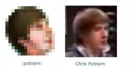 Chris Putnam Facebook Emoticon