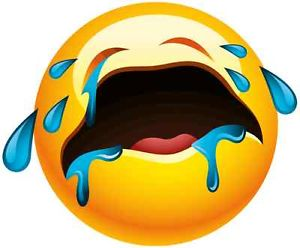 Facebook Emoticons: Cry & Upset