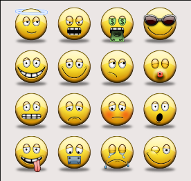 Facebook Emoticons for Social Networking