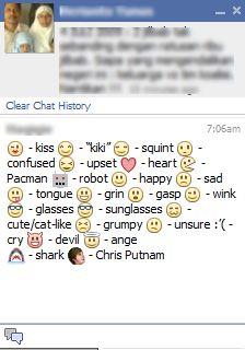 Facebook Emoticons: Kiki & Pacman