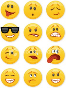 Bring a Glow to the Room with Facebook Emoticons