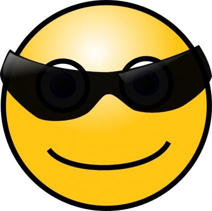 Facebook Sunglasses Emoticon  sunglasses facebook smiley facebook emoticons