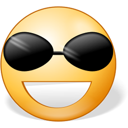 Sunglasses Emoticon Facebook  facebook chat emoticons smile and wink facebook emoticons