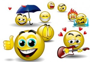 A World of Facebook Emoticons