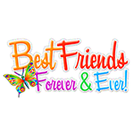 Best Friends Forever Facebook Chat Sticker