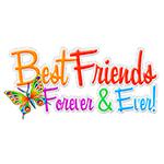 Best Friends Forever Facebook Chat Sticker