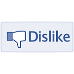 Dislike Facebook Messenger Sticker
