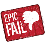 Epic Fail Facebook Chat Sticker