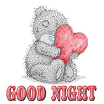 Facebook Good Night Chat Sticker
