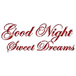 Good Night, Sweet Dreams Chat Sticker