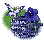Have a Lovely Day Chat Sticker
