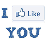Facebook Quote I Like You Chat Sticker