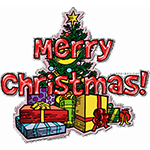 merry christmas quote facebook sticker - Merry Christmas Stickers