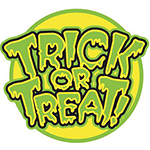 Trick or Treat Facebook Sticker